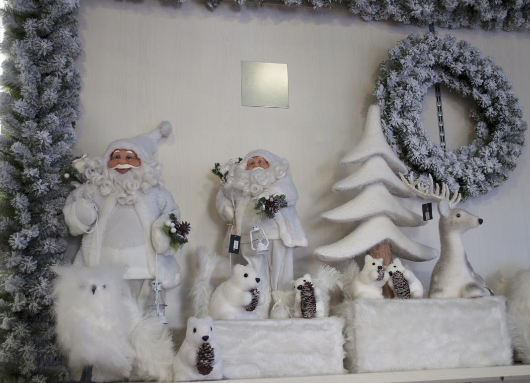 Eccezionale Noleggio e vendita di addobbi natalizi per vetrine Turate | L'Emporio BO78