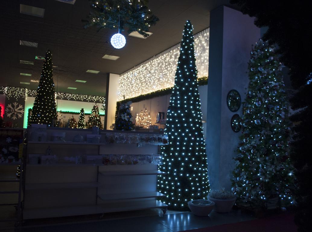 Decorazioni Luminose Natalizie Per Esterni : Decorazioni natalizie per esterni negozio addobbi natalizi da