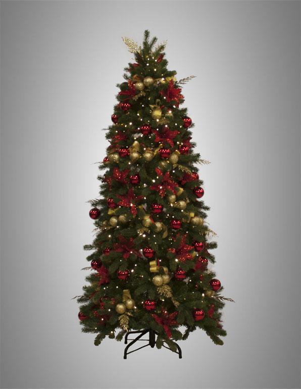 albero addobbato 210-005