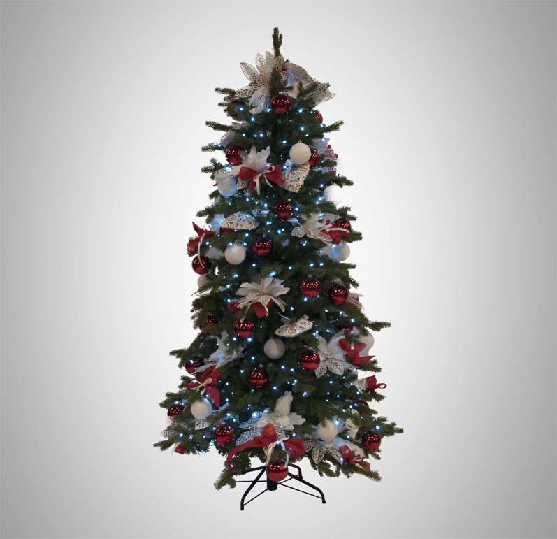 Albero Di Natale Bianco 90 Cm.Alberi Di Natale A Noleggio Rho