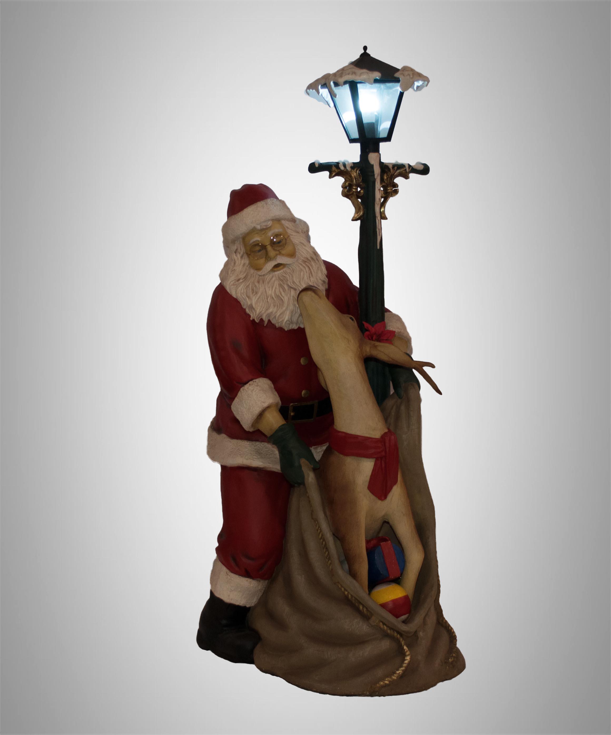 Come Creare Una Renna Luminosa decorazioni natalizie turate | l'emporio
