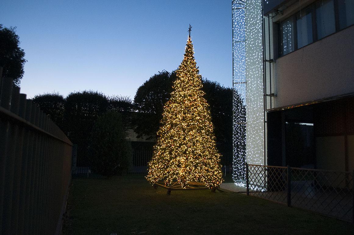 Albero Di Natale 7 Metri.Decorazioni Luminose Per Esterni Turate L Emporio